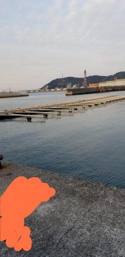 アジング 初島漁港