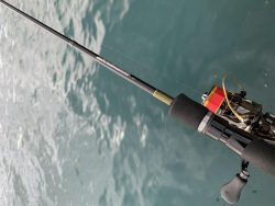 悪天候の中での釣り